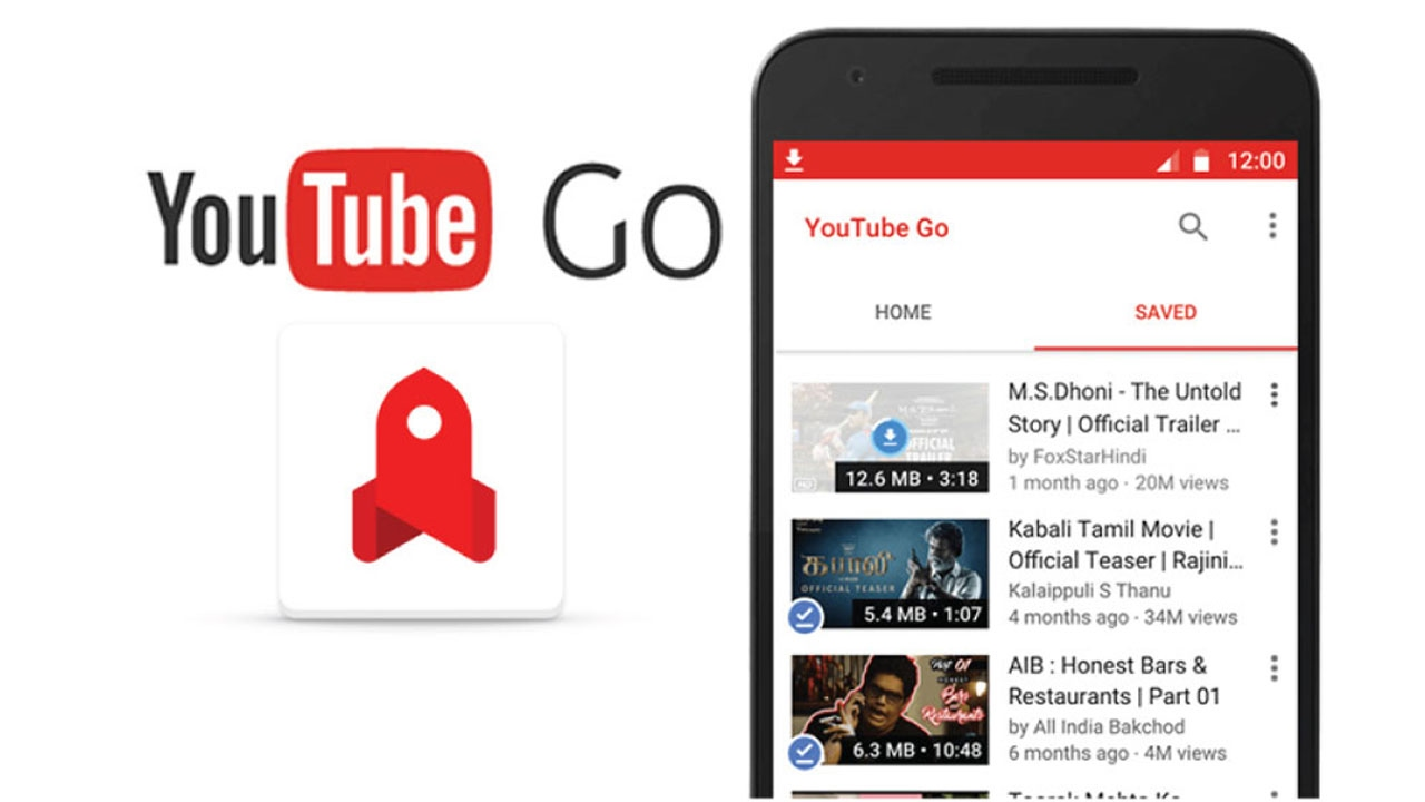 YouTube Go App saves your data and lets you download and