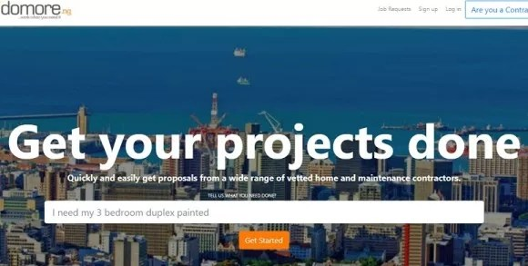 How Domore.ng is connecting professional building contractors to clients in Nigeria