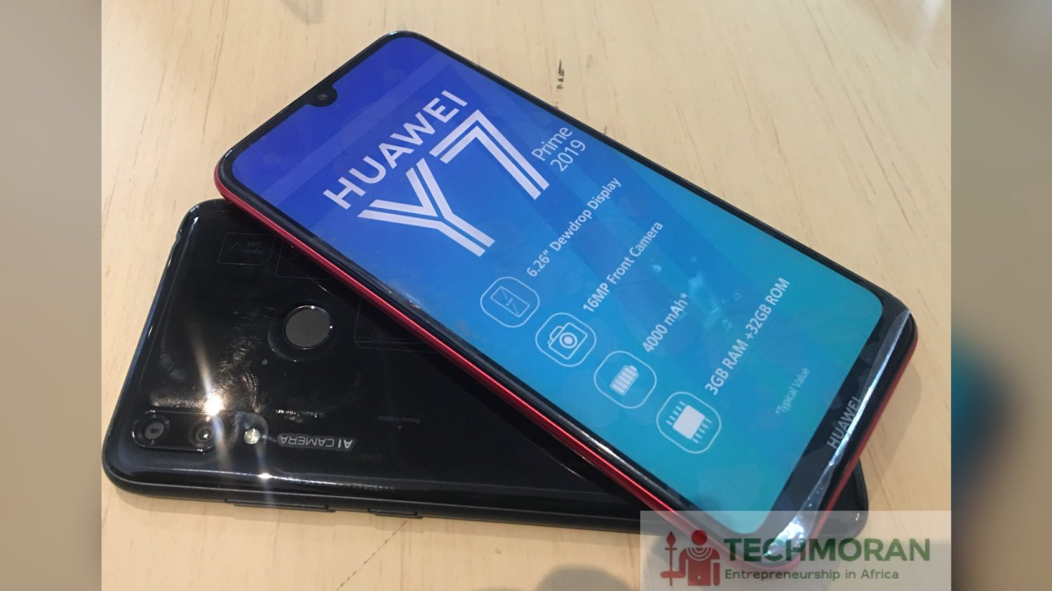 Huawei Mobile launches Y7 Prime 2019 retailing at Kshs