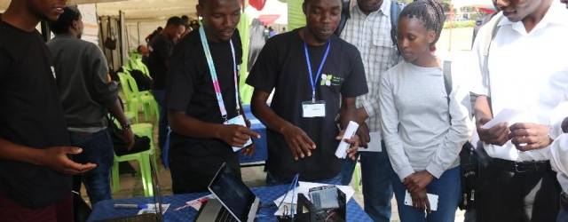 JKUAT students develop smart walking stick and road conditions monitoring app