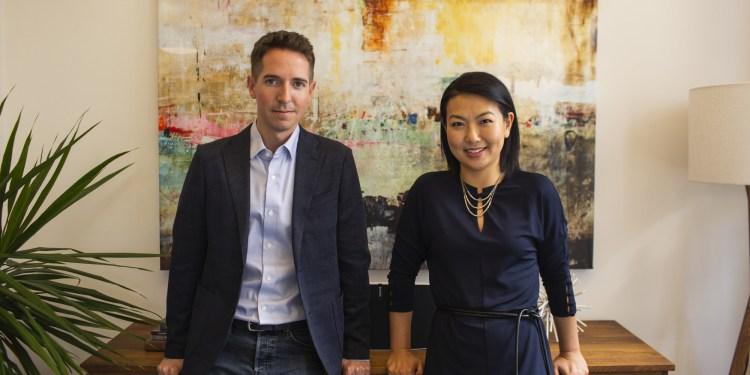 Glenn Rockman and Jenny Yip, managing partners at Adjuvant Capital. (PRNewsfoto/Adjuvant Capital)