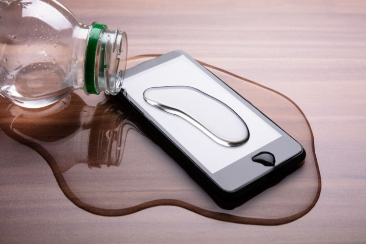 Mayo Clinic - water damaged phone