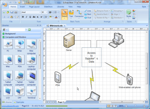 Visio Network Diagram Templates with Examples