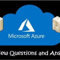 Azure Interview Questions