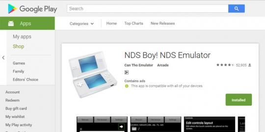 Nds boy apk | Download NDS Boy! Pro - 2019-02-17