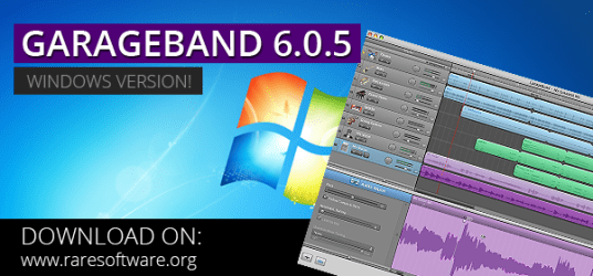 Download Garageband using Rare Software
