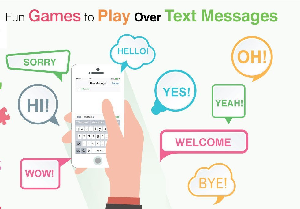 Flirty games to play over text