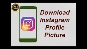 How to View, Save or Download Instagram Profile Picture in Full Quality