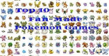 Best Fan Made Pokemon Games