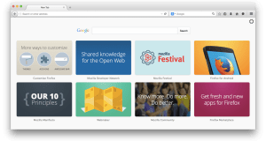 Mozilla Firefox Now Contains Ads In Its Browser