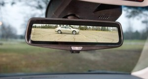 Cadillac smart rearview mirrors