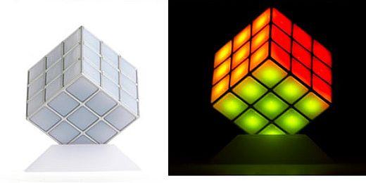 Rubiks Cube Disco Light