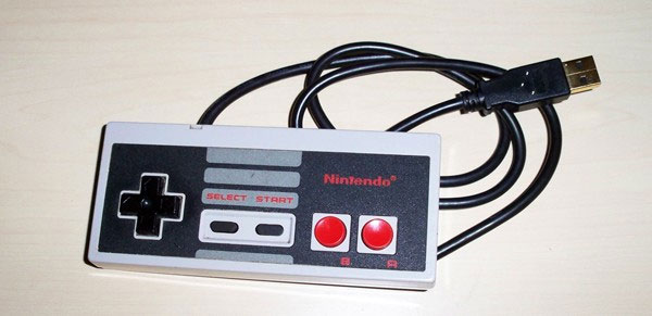This is a retro styled controller