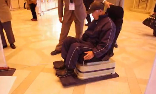 hoverboard levitation chair japan elderly floating
