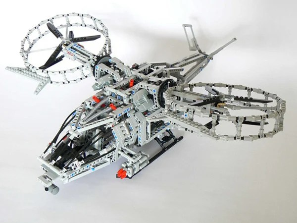 lego avatar toy helicopter technics