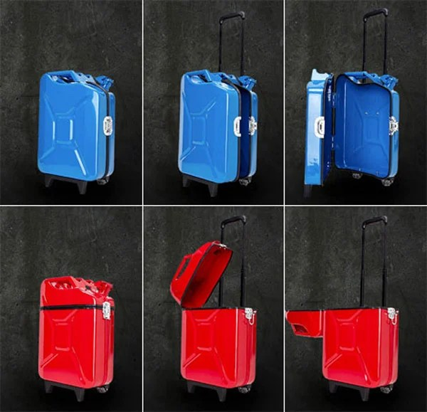 jerrycan gascase ivorilla luggage bags case