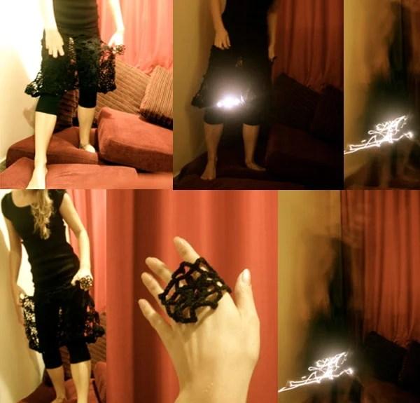 kristi kuusk led dress skirt geek wear