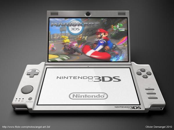 nintendo 3ds olivier demangel video games
