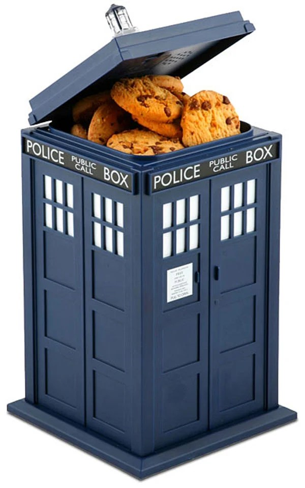 tardis doctor who science-fiction bbc cookie jar