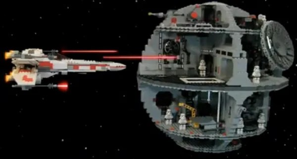 star wars recap stop motion video lego