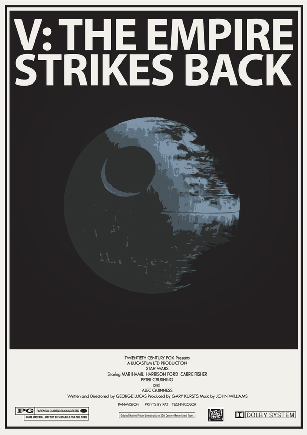 retro star wars pat langton posters