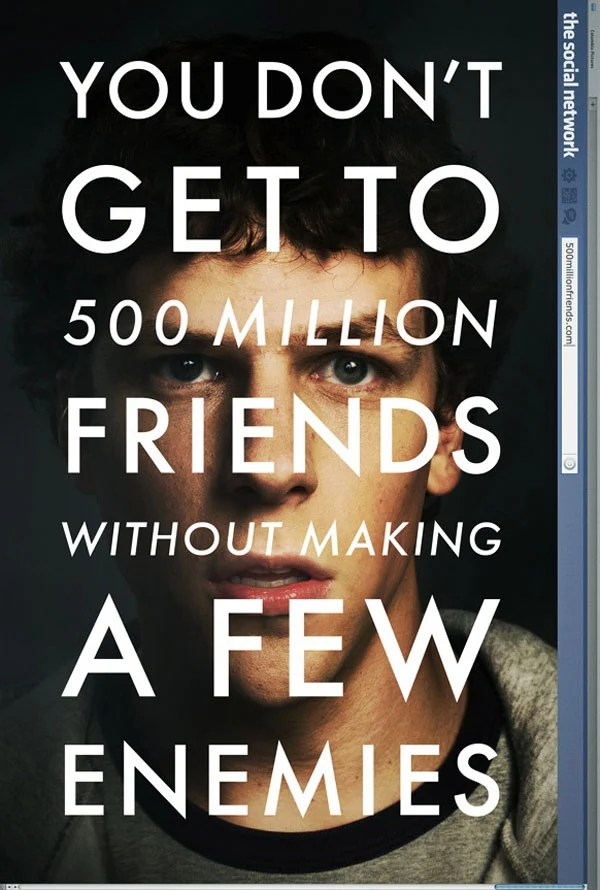 facebook mark zuckerberg social networking movie trailer