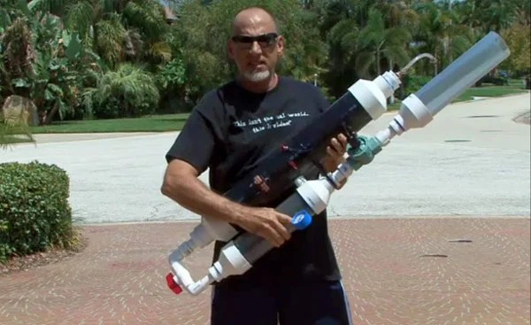 DIY T-Shirt Cannon: Pretend It'S Half-Time in Your ...