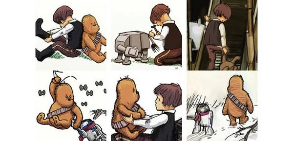james hance wookiee the chew winnie the pooh star wars han solo
