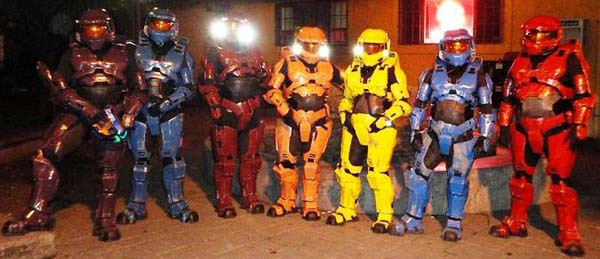 halo red vs blue video games master chief shawn thorsson