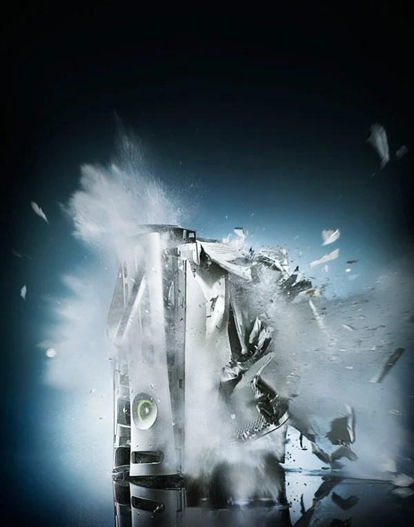 exploding xbox vide games 360 dan saelinger