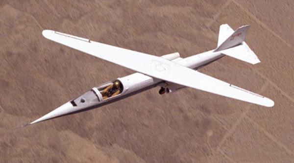 nasa wings askew plane 1970