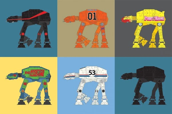 steven anderson restyled at-at star wars imperial walker