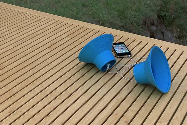 trembo trunks powerless speakers music audio mp3