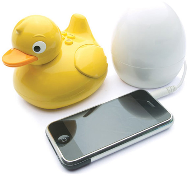 iduck totally funky speaker bath tub waterproof wireless ipod iphone