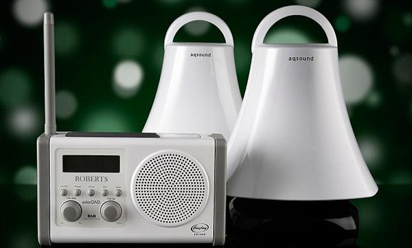 aqsound wireless speakers balcony backyard patio audio