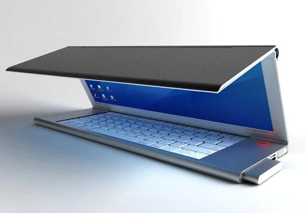 niels van hoof feno foldable laptop concept mobility