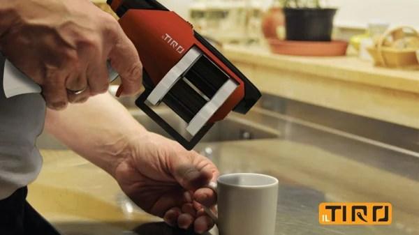 espresso gun il tiro coffee concept design