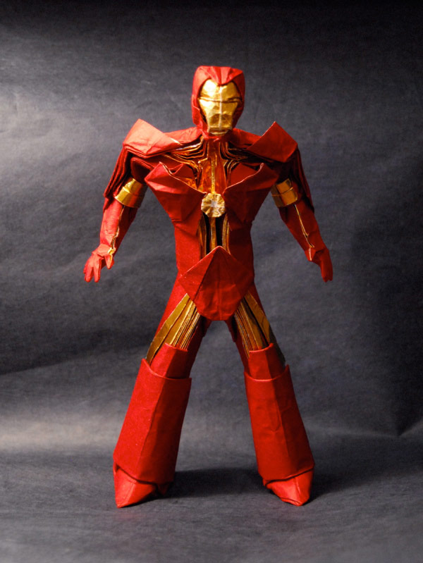 iron man mit brian chan origami japanese folding amazing