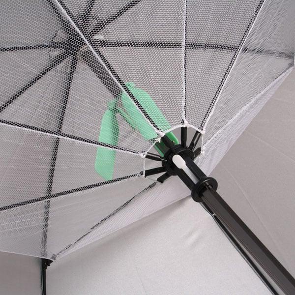 thanko fanbrella umbrella fan summer rain shine