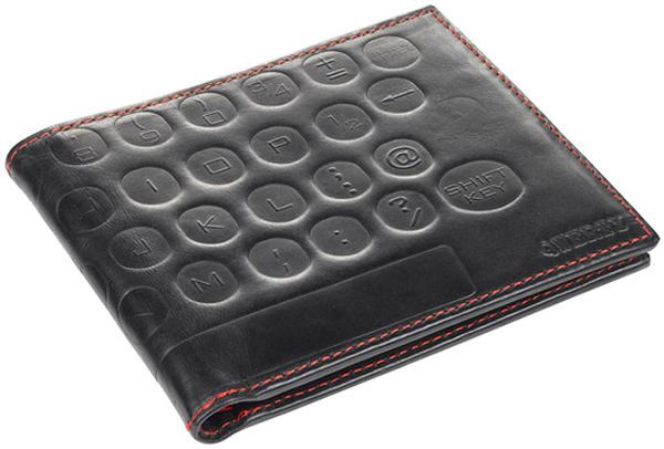 geek fashion wallet leather qwerty