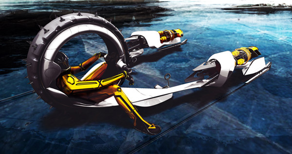 michael jelinek transportation star wars future pod racing design