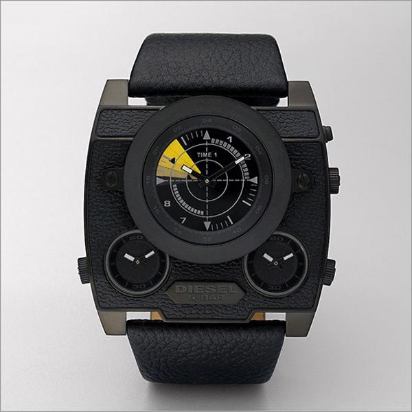 diesl watch black out sba dz1404