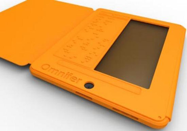 omnifer ipad braille case display keyboard concept