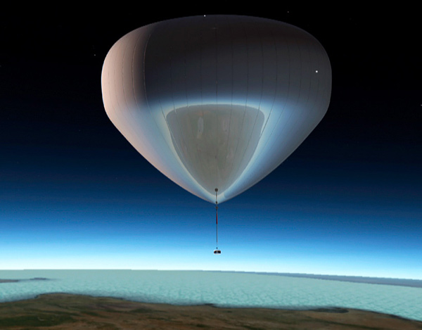 bloon balloon space travel orbit barcelona spain zero2infinity