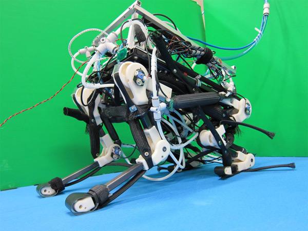 pigorass robot four legs yamada tokyo japan locomotion