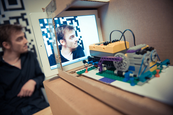 pheromone lab app tester lego mindstorms robot ipad