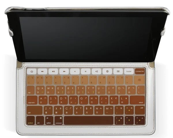 hatch & co. case bluetooth keyboard skinny ipad 2
