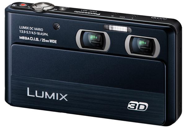 panasonic lumix 3d1 dmc 3d camera digital imaging point-and-shoot