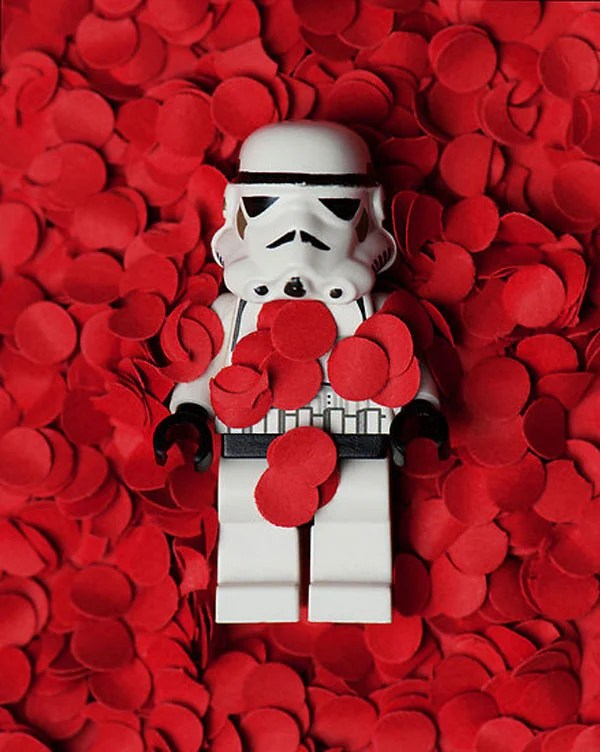 stormtrooper star wars lego mike stimpson plastic american beauty