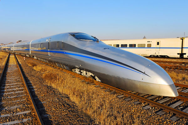 China Tests 310 MPH Train 01